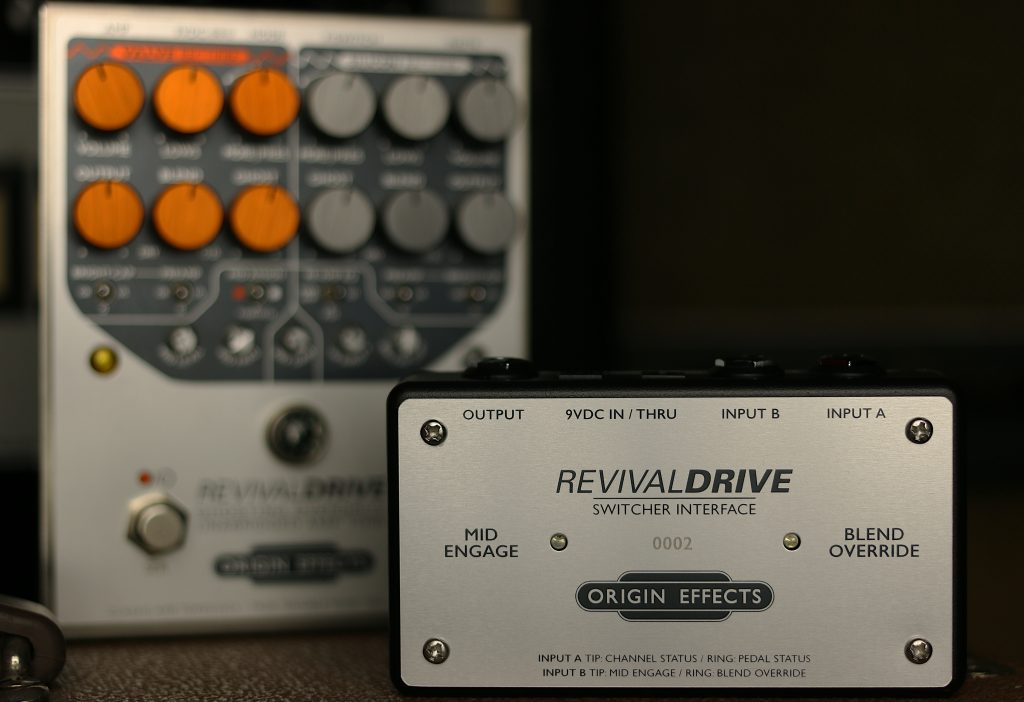 Switcher Interface, RevivalDRIVE, Origin Effects, GigRig G2, Switching, Effects Pedals