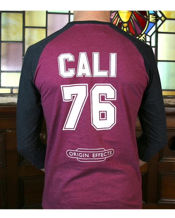 Origin Effects Baseball T-Shirt Back Cali76 Design