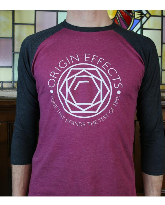 Origin Effects Baseball T-Shirt Front Jewel Design