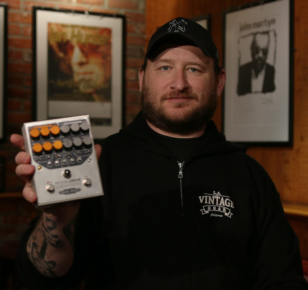 Josh Smith, Guitarist, Origin Effects, Overdrive, RevivalDRIVE, Pedalboard, GigRig,