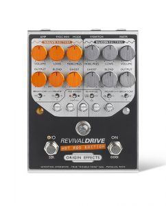 Origin Effects RevivalDRIVE Hot Rod Edition. Hot rodded JCM JCM800 Marshall Amp In A Box Mesa Boogie Tones Pedal. Dual Channel Overdrive Amplifier Drive