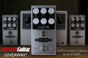 Win Origin Effects Cali76 Compact Deluxe 10K compressor limiter pedal